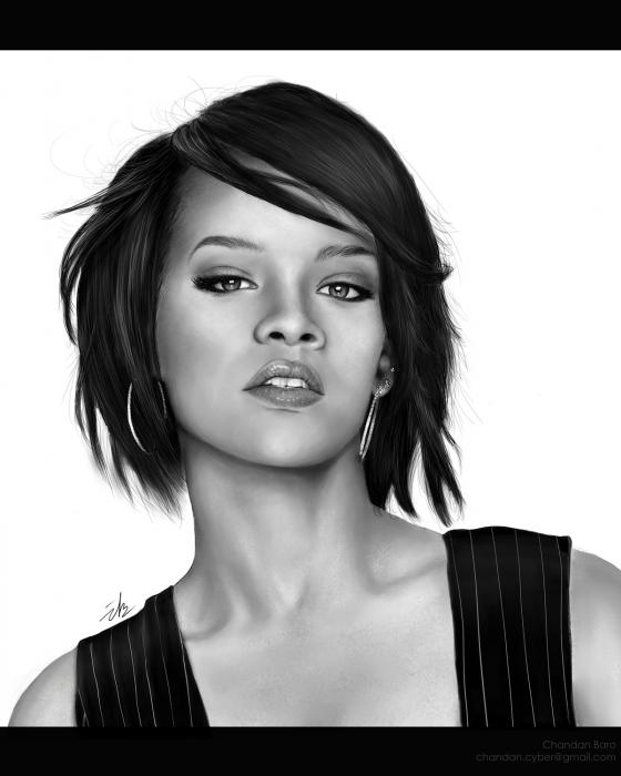 Rihanna by Chandan